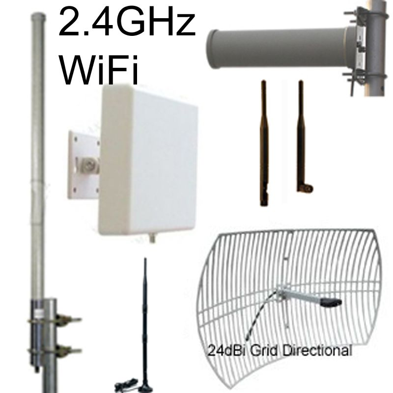 2.4GHz WiFi Antennas