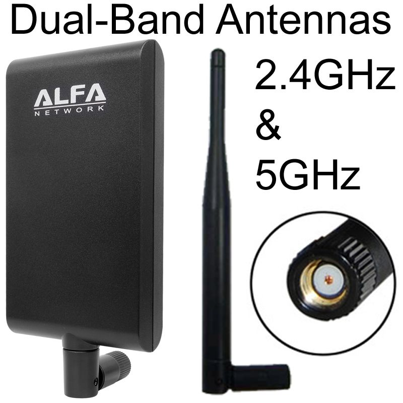 Dual Band WiFi Antennas