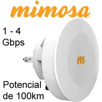 Mimosa Enlaces Inalambrico 1GB Punto a Punto