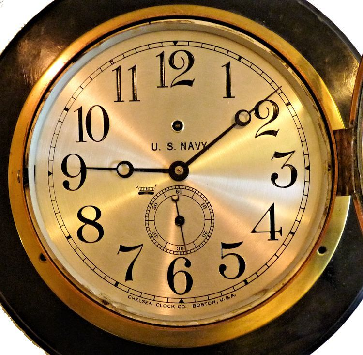 A closeup of the face of the Tennessee clock image