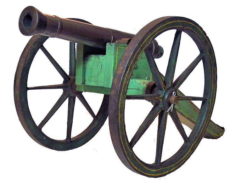 Cannon viewed from the left back image