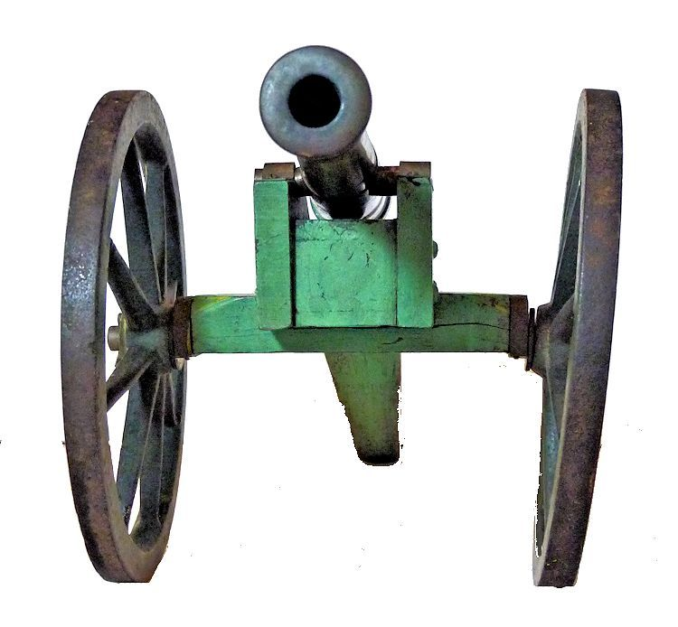 Front view of cannon image