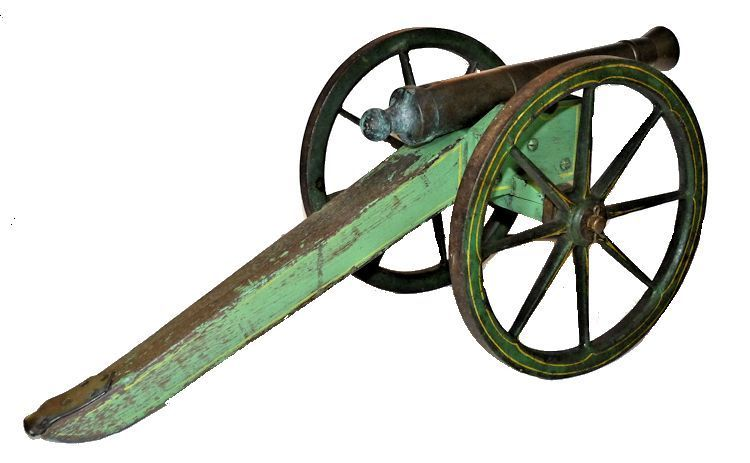 Cannon viewed from the right rear image