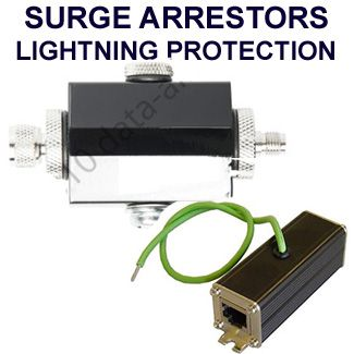 Lightning Surge Arrestors for antennas