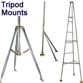 Tripod Antenna Mounts