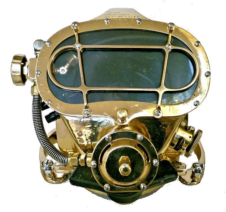 The front of the Miller dive hat image