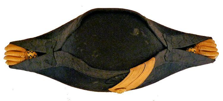 Top view of cocked hat image