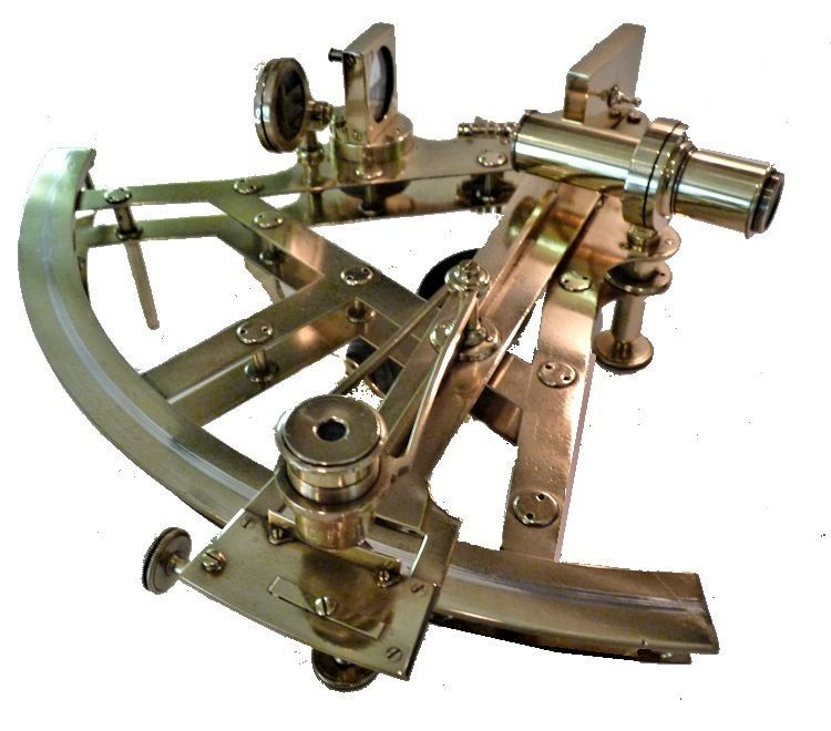 lower limb of Parkinson double frame sextant image
