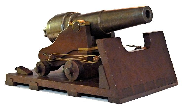 Traversed view of front of Parrot cannon image