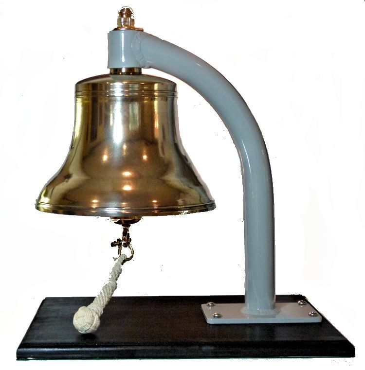 Showing left side of bell image