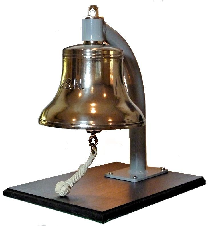 3/4 view of left front of bell image