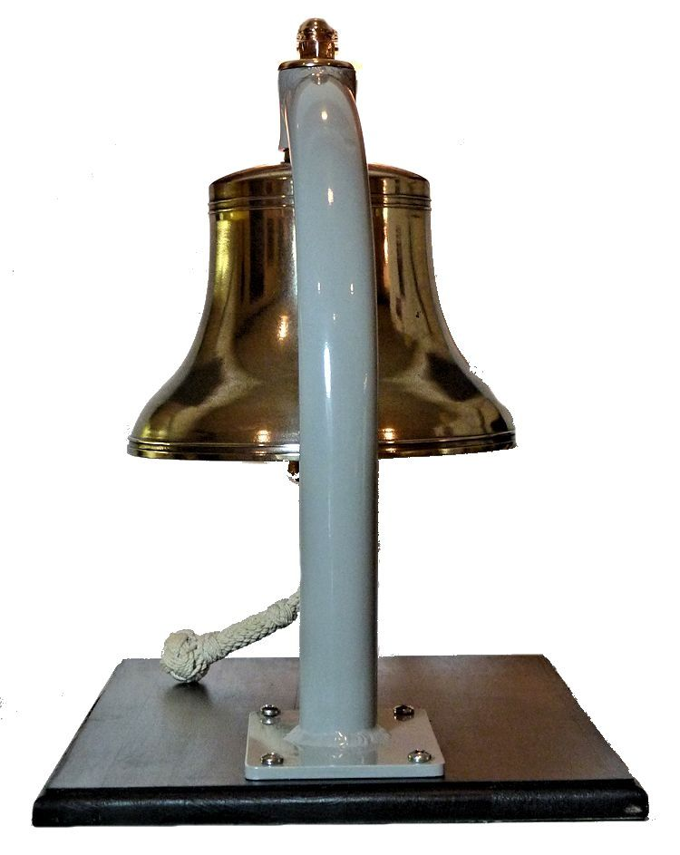 back of bell showing bend image