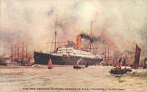 Postcard of the ship image