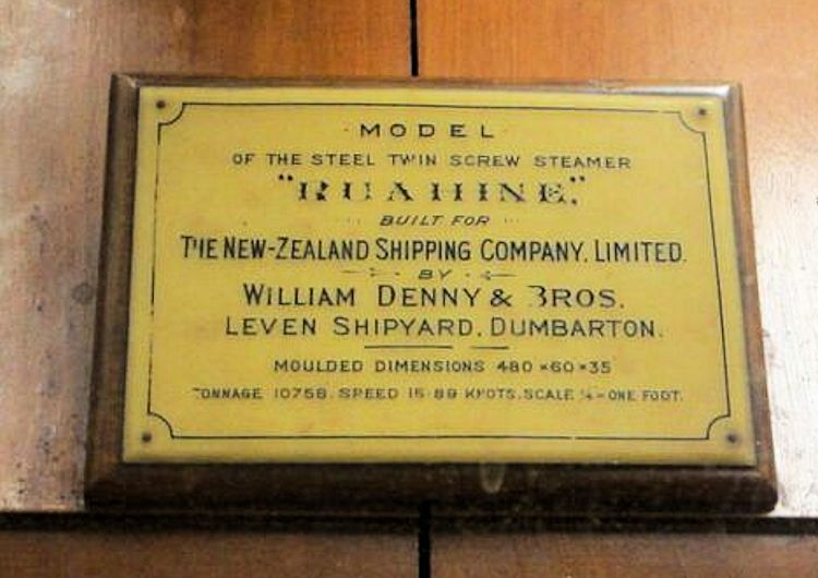 The builder's name plate image