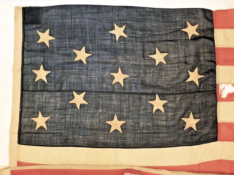 Canton of 13 Star Boat flag image