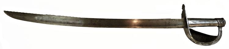 The reverse of the French IX cutlass of 1801 image