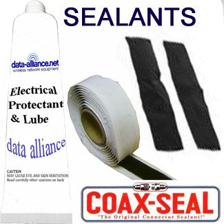Sealants for Antenna Mounts, Router Enclosures