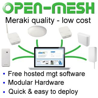 Open Mesh Cisco Meraki