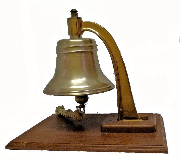 Leftside of Navy bell image