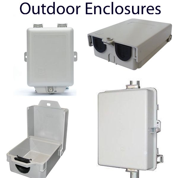 Weatherproof  Enclosures for Routers and WiFi USB Adapters