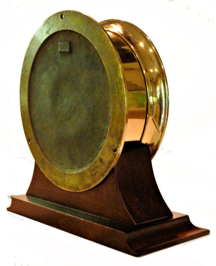 Partial back view of the same Chellsea 24 hour clock image