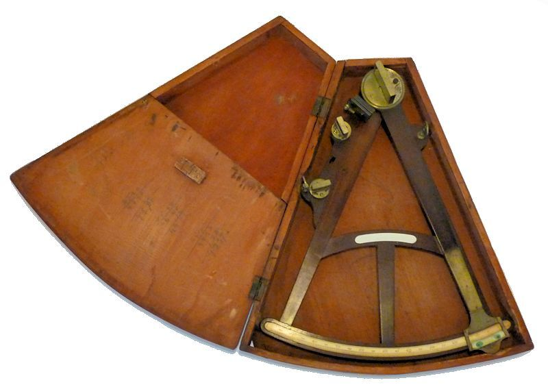Hadley style octant in case image