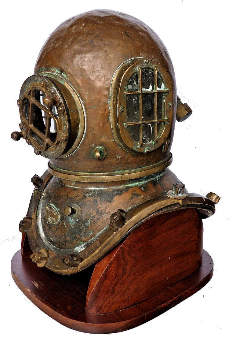 Partial left side front view of Morse Commercial helmet image