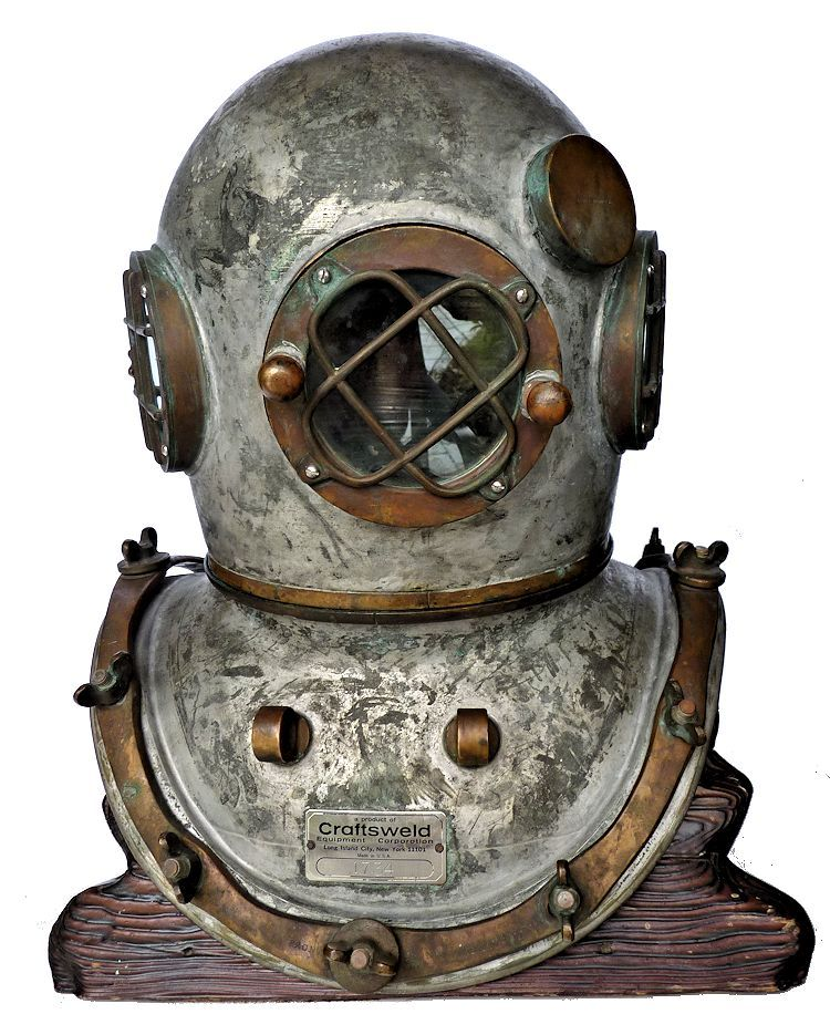 New Craftsweld diving helmet image
