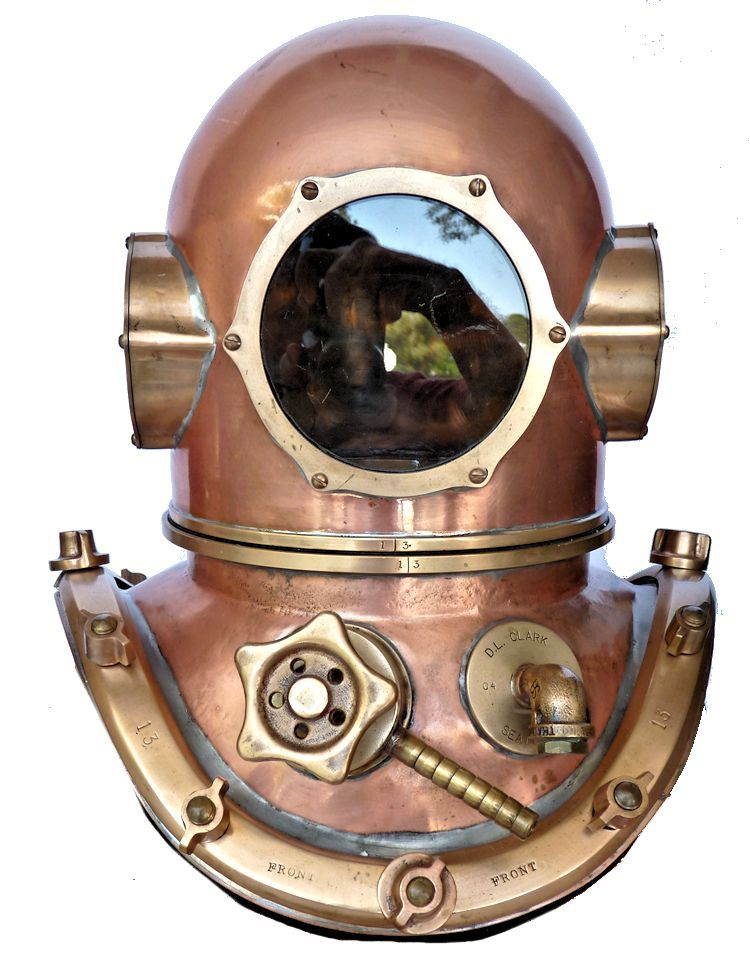 New David L. Clark diving helmet image