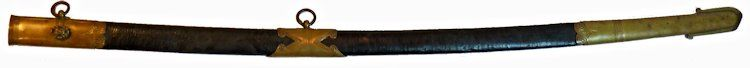 The obverse of the scabbard image