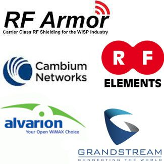 RF Armor, RF Elements, Cambium, Alvarion, GrandStream en Mexico