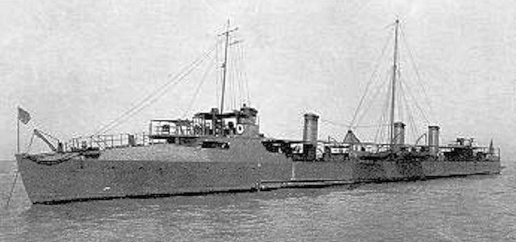 USS Whipple DD 15, the longest serving Truxton Class ship image
