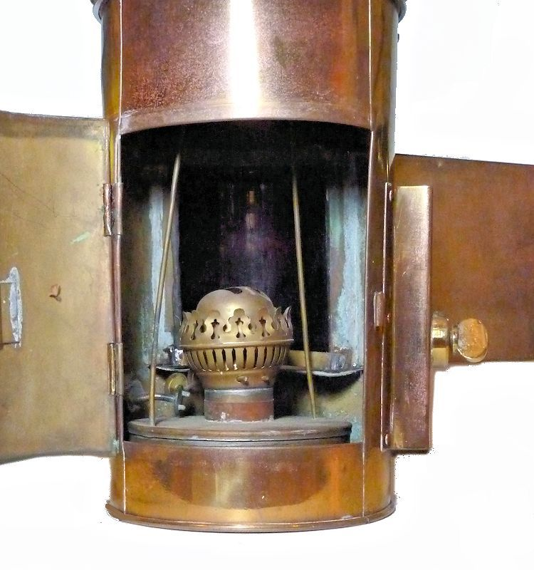 Interior of Navy Truxton Class side light image