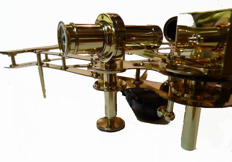 lower limb of Way Troughton double frame                                     sextant image