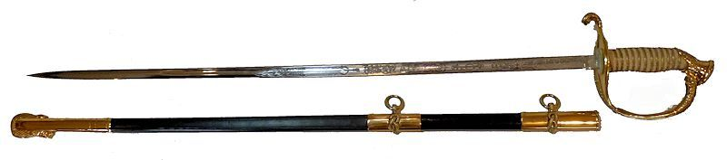 M 1852 highest quality naval sword image