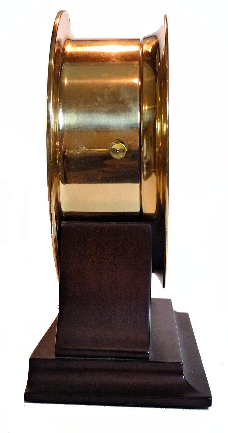 Side view of USCG ship's clock image
