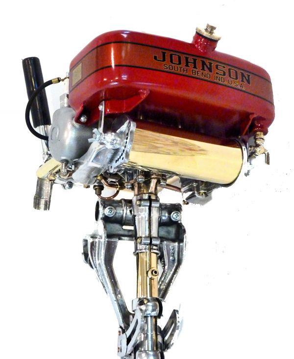Antique 1926 Johnson Outboard Motor For Display Mint