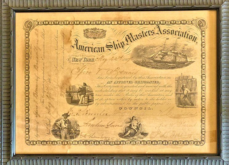 Ship master's certificate of competency