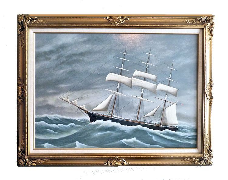 Clipper ship Sea Witch by Robert Jordan Oil on Canvas image