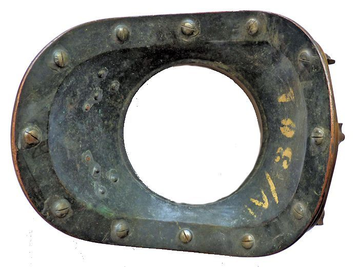 Bottom of Siebe Gorman breast plate image