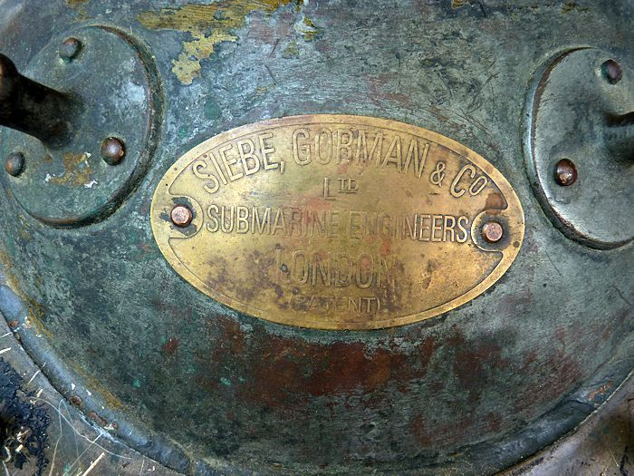 Siebe Gorman maker's tag image
