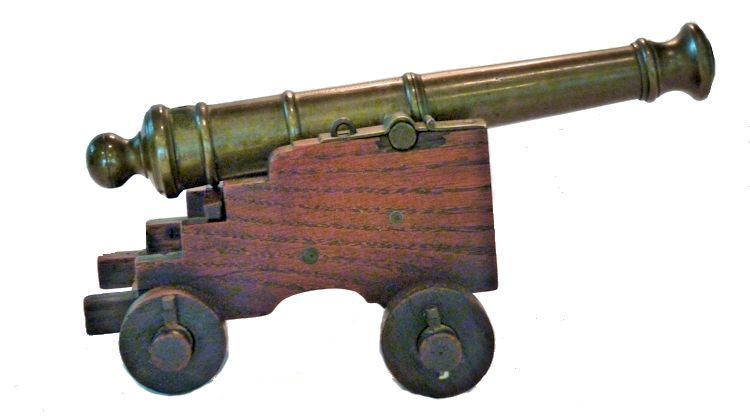 Right side view of Royal George Cannon Relic  image