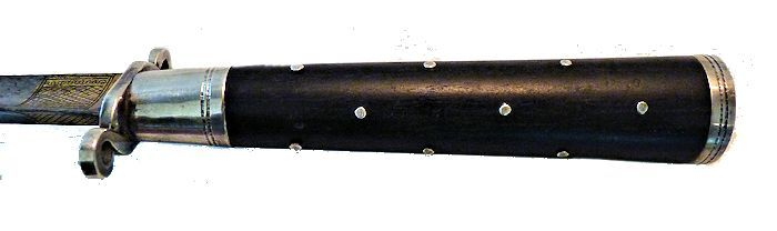 A side view of the hilt from another anlgle image