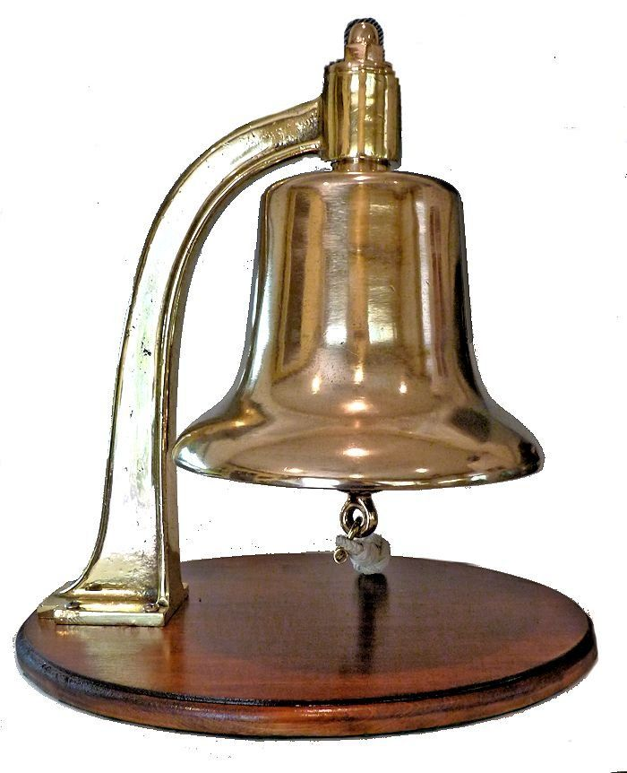 Right side of bell is in good shape image