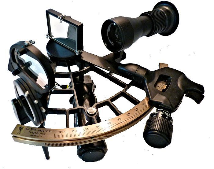 Plath Navistar Classic Sextant Whole Horizon Mirror Mint