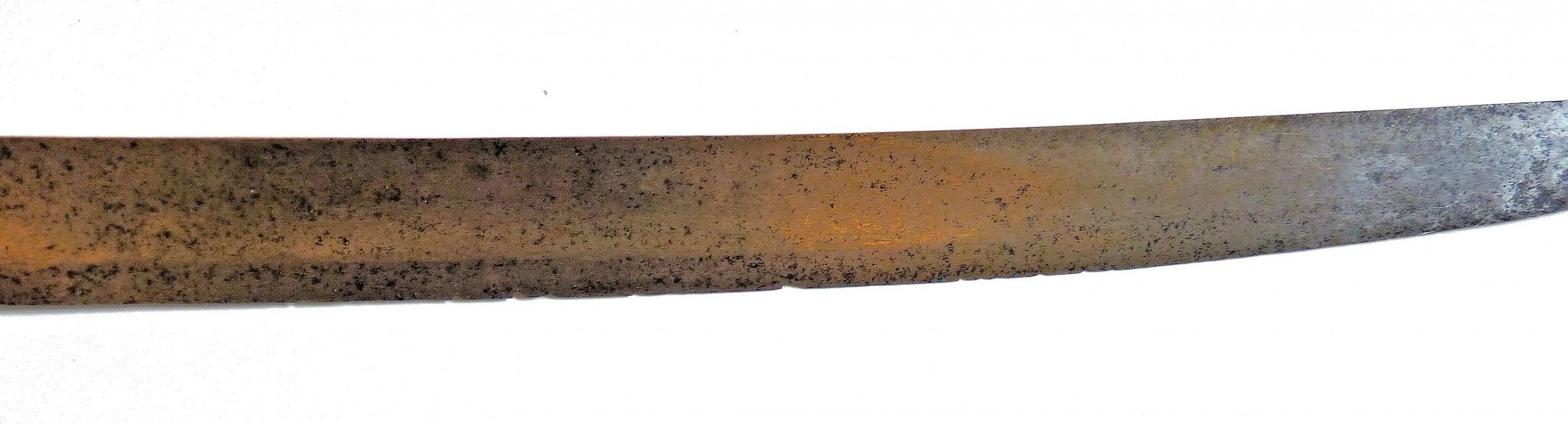 SEction of bladeshowing condition and nicks image