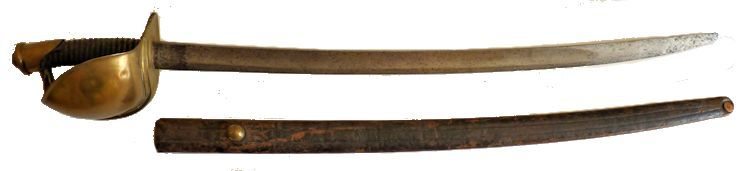 Ames M 1860 Civil War Servce                                     Cutlass image