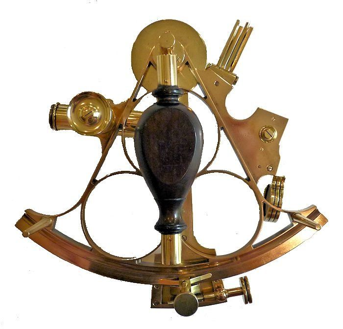 The back of the Casella sextant image