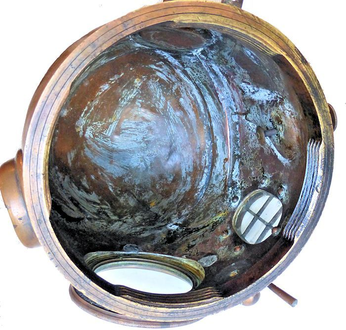 Inside of helmet image