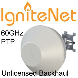 IgniteNet 60GHZ Point to Point Backhaul / Bridge